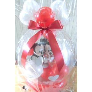 電報 結婚式 ディズニー ミッキーミニーの結婚式 バルーン電報 結婚祝い プレゼント 洋装 和装|balloon-shop|05