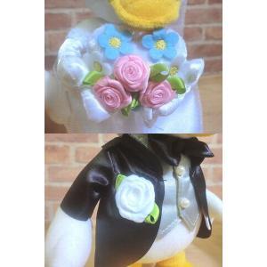 電報 結婚式 ディズニー ドナルド、デイジーの結婚式 結婚祝い バルーンフラワー お祝い 送料無料 |balloon-shop|05