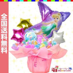 ティンカーベルのキャンディブーケ ティンカーベルのキュートなキャンディーブーケです☆ 女の子の憧れテ...