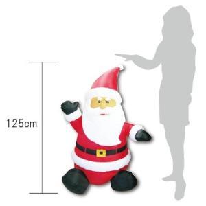 エアブロウ ミニファニーサンタクロースクリスマス 飾り|balloons-pro