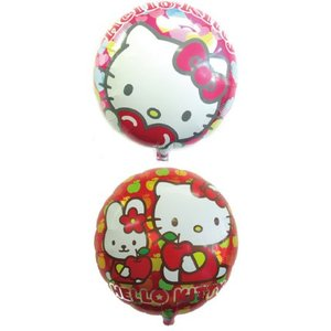 キュートキティ  45cmヘリウム入 風船/balloon/フィルムバルーン|balloons-pro