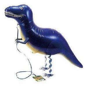 お散歩ティラノサウルスヘリウムガスなし1個風船/フィルム風船/お散歩バルーン|balloons-pro
