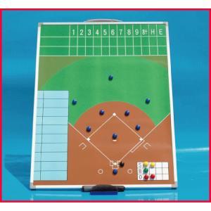 野球用作戦盤  M 600x450 サイズ カラー Aタイプ たて型|ballparkint