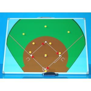 野球用作戦盤 M 600x450 サイズ カラー Bタイプ 横型|ballparkint