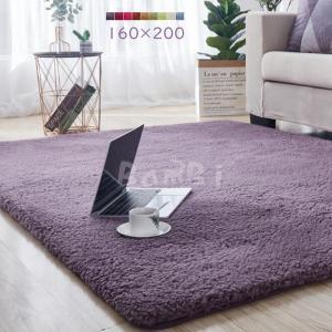 カーペット ラグマット 絨毯 おしゃれ 厚手 洗える 北欧 ボアラグ 200 250 300 3畳 6畳 160×200