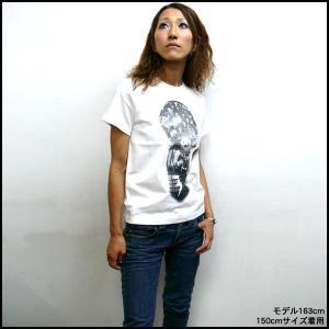 電撃 Tシャツ -G- ロック アメカジ カジュアル プリント 半袖 大きいサイズ|bambi