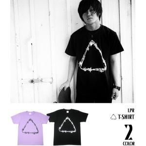 ロックTシャツ / △ Tシャツ -G- メンズ レディース トライアングル パンク ロック ロゴ プリント 半袖|bambi