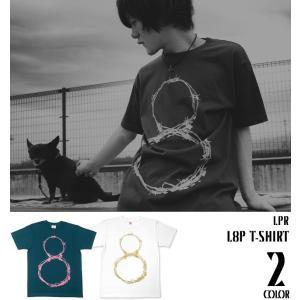 L8P Tシャツ -G- メンズ レディース ループ LOOP パンク ロックTシャツ おしゃれ 半袖 ロゴ プリント|bambi
