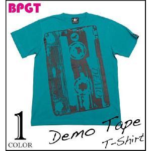 ロックTシャツ / Demo Tape(デモテープ)Tシャツ (A.グリーン) -G- ROCK バンド ライブ フェス オリジナル 半袖 大きいサイズ 春 夏|bambi