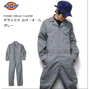 Deluxe Coverall デラックス カバーオール(グレー:つなぎ) - Dickies - ディッキーズ -A-|bambi