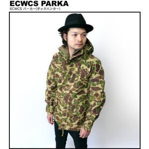 ECWCS パーカー(ダックハンター)【 ゴアテックスPK レプリカ 】 -R-( マンパ カモフラ アウター ミリタリー 迷彩柄 アメカジ )