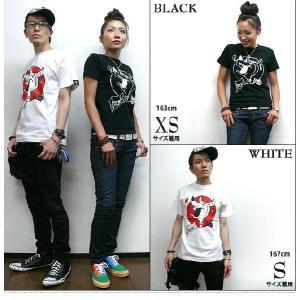 ロックTシャツ / bambi ロック Tシャツ - HARIKEN -S- ROCK PUNK パンクTシャツ オリジナル コラボ 半袖 夏|bambi|02