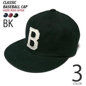クラシック ベースボール キャップ(ブラック)-R-( ダック baseball CAP 野球 帽子 アメカジ )|bambi