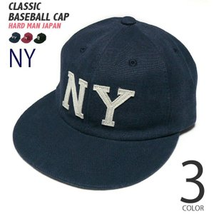クラシック ベースボール キャップ(ネイビー)-R-( ダック baseball CAP 野球 帽子 アメカジ )|bambi