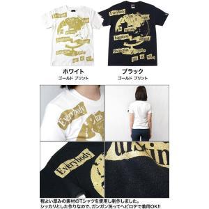 Happiness(ハピネス)Tシャツ (ホワイト)-G- 半袖 白色 地球儀 パンクロックTee カジュアル アメカジ メッセージ|bambi|06