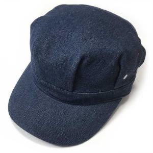 レイルロード キャップ (ブルーデニム) PENNANT BANNERS -G-CAP 帽子 ワークキャップ 無地 アメカジ カジュアル|bambi
