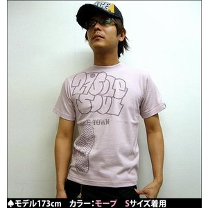 27 SOLE SOUL・HOME TOWN Tシャツ -A-( サブカル グラフィックT コラボT 80's )|bambi