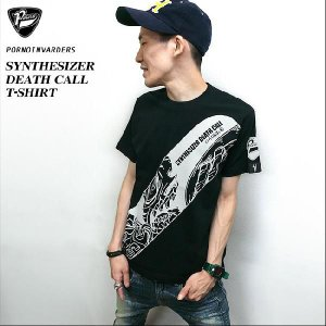 SYNTHESIZER DEATH CALL Tシャツ -A-( ハードコア ロック パンク ファッション )|bambi
