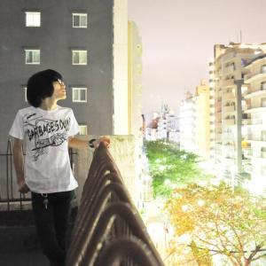 GARBAGE SOUND (ガベージサウンド) Tシャツ (ホワイト)-G- 半袖 白色 ギター柄 ROCK パンクロックTシャツ バンドTシャツ|bambi|05
