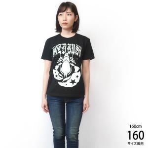 GOLD RUSH(ゴールドラッシュ)Tシャツ (ブラック)-G- ロックTシャツ ROCK アメカジ カジュアル 半袖 黒色|bambi|03