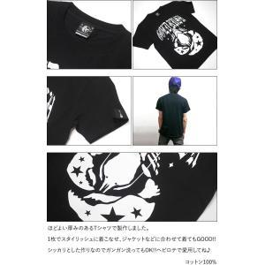 GOLD RUSH(ゴールドラッシュ)Tシャツ (ブラック)-G- ロックTシャツ ROCK アメカジ カジュアル 半袖 黒色|bambi|06