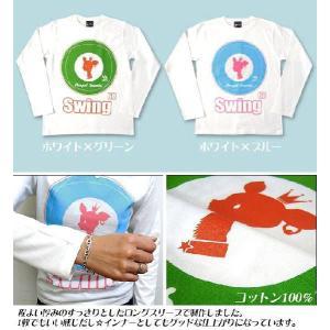 Swing 60 ロングスリーブTシャツ -G- ロンT 長袖 モッズ UKロック アメカジ カジュアルコーデ|bambi|03