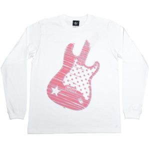 Rocker? ロングスリーブ Tシャツ -G- ロンT メンズ レディース ロック ギター柄 アメカジ おしゃれ 長袖Tシャツ|bambi|07
