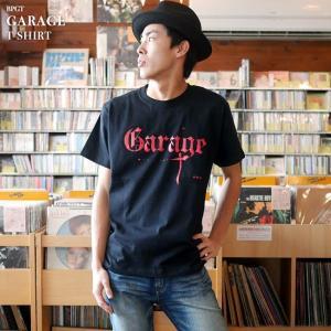 Garage(ガレージ) Tシャツ (ブラック)-G- 半袖 黒色 ロックTシャツ バンド メンズ レディース ライブ フェス 音楽 bambi 02