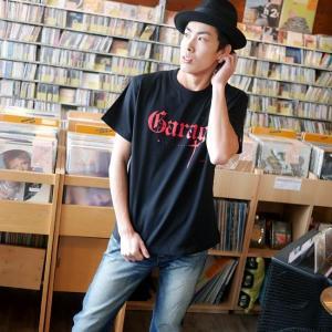 Garage(ガレージ) Tシャツ (ブラック)-G- 半袖 黒色 ロックTシャツ バンド メンズ レディース ライブ フェス 音楽 bambi 03