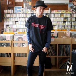 Garage(ガレージ) Tシャツ (ブラック)-G- 半袖 黒色 ロックTシャツ バンド メンズ レディース ライブ フェス 音楽 bambi 04
