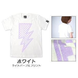 特別プライス☆ イナズマ Tシャツ -G- 半袖 稲妻 ROCK ロックTシャツ バンド ライブ オリジナルTシャツ|bambi|02