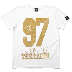 bambi97 Tシャツ (ホワイト) -G- 白色 半袖 ロゴTee ロックTシャツ グラフィック 春夏秋服コーデ 綿100%|bambi|03