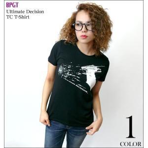 2weekセール!! Ultimate Decision TC Tシャツ -G- パンクロックTシャツ カットソー グラフィック かっこいい ブランド ブラック 黒色 半袖|bambi