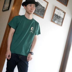 ロックTシャツ / DR3 (ドラムロッカー3) Tシャツ (アイビーグリーン) -G- 半袖 緑色 ドラム ドラマー バンド ロックンロール|bambi|02