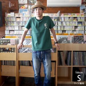 ロックTシャツ / DR3 (ドラムロッカー3) Tシャツ (アイビーグリーン) -G- 半袖 緑色 ドラム ドラマー バンド ロックンロール|bambi|03