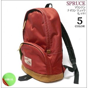 マウンテン ナイロン リュック ( レッド ) -Z-( バックパック通学 旅行 バック バッグ かばん bag リュックサック )|bambi