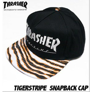TIGERSTRIPE タイガーストライプ スナップバック キャップ - THRASHER -G-( SNAPBACK CAP スケーター エクストリーム 帽子 )|bambi