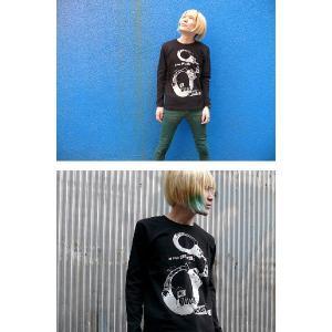 The Ghost Writer No.1 ロングスリーブTシャツ -G- パンクロック パンキッシュ ロンT ブラック 黒 おしゃれ 長袖 bambi 02