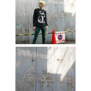 The Ghost Writer No.1 ロングスリーブTシャツ -G- パンクロック パンキッシュ ロンT ブラック 黒 おしゃれ 長袖 bambi 03
