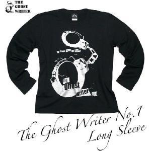 The Ghost Writer No.1 ロングスリーブTシャツ -G- パンクロック パンキッシュ ロンT ブラック 黒 おしゃれ 長袖 bambi 04