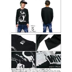 The Ghost Writer No.1 ロングスリーブTシャツ -G- パンクロック パンキッシュ ロンT ブラック 黒 おしゃれ 長袖 bambi 05