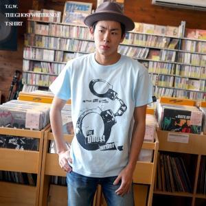 パンクロックTシャツ / The Ghost Writer No.1 Tシャツ (ライトブルー) -G- PUNKROCK 手錠 パンクスタイル かっこいい 半袖|bambi