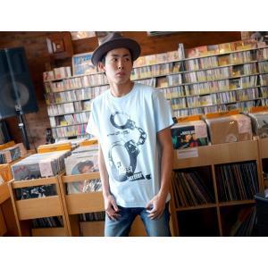 パンクロックTシャツ / The Ghost Writer No.1 Tシャツ (ライトブルー) -G- PUNKROCK 手錠 パンクスタイル かっこいい 半袖|bambi|02