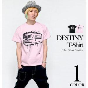 パンクロックTシャツ / DESTINY ディスティニー Tシャツ(ライトピンク) -G- アメカジ...