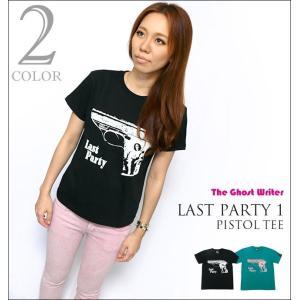 Last Party 1「Pistol」Tシャツ -G- 半袖 パンクロックTシャツ ピストル グラフィック アメカジ カジュアル bambi