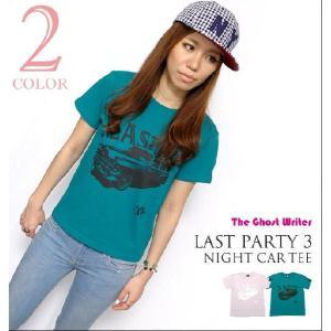 2weekセール!! Last Party 3『night car』Tシャツ -A- PUNKROCK パンクロックTシャツ オリジナル 半袖 Tee|bambi