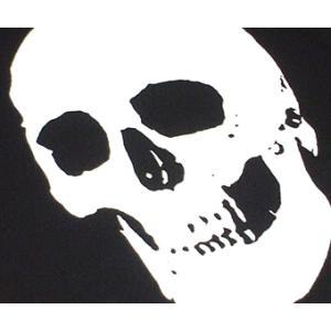 特別プライス☆ スカル Tシャツ ( ブラック&ホワイト )-G- 半袖 ドクロ ロックTシャツ メンズ レディース|bambi|05