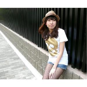 特別プライス☆ スカル ガールズ UネックTシャツ -G- 半袖 ドクロ ロック カットソー ホワイト レディース bambi 04