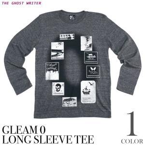 Gleam 0(ゼロ) ネオビンテージ ロングスリーブTシャツ -G- 長袖Tシャツ ロンT メンズ レディース ロック パンク アメカジ|bambi