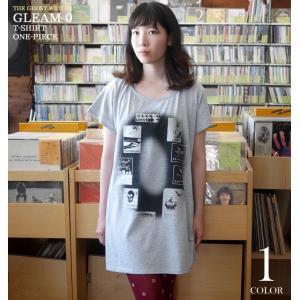 Gleam 0(ゼロ) Tシャツワンピース -G- カジュアル グラフィック かわいい 可愛い ワンピTシャツ オリジナルブランド 半袖|bambi